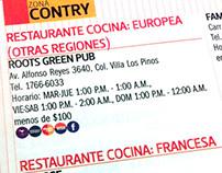 Guía de Restaurantes / Restaurant's Guide