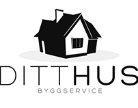 Ditt Hus Byggservice Logo // North Way Design
