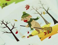 2013 Calendar for kids