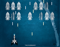 Mass Effect Prints: We Are The Reapers/This Is Normandy
