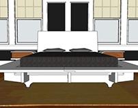 SLAB: a knock-down platform bed