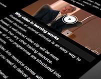 Video Arts Website