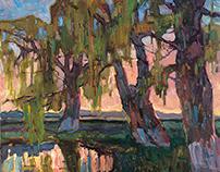 oil Paintings, plein air studies