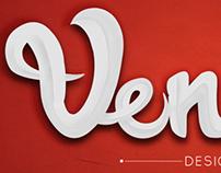 Venom- Logo/Text Design
