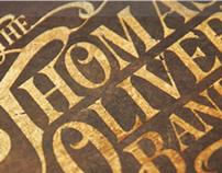 The Thomas Oliver Band - Branding & Album Design