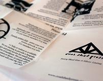 Coal Shed Press Open Studios Handout