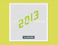 Carters - Calendar 2013