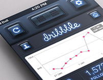 """Tracker"" App - Mobile UI Design -"