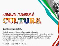 Carnaval também é Cultura