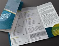 JCCC Graphic Design Brochure