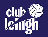 Club Lehigh Volleyball Branding