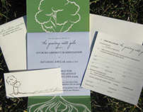 Growing Root Gala Invite