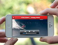 Volcom - Event iPhone App