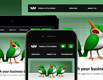 Web Design • Three Little Birds