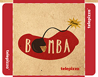 Packaging Bomba - Telepizza