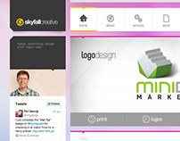 Skyfall Creative Website Redesign