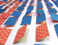 Imagemaking Installation: Wall of Cards