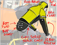 Ultimate Commuter Jacket Concept
