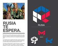 Folleto Visita Rusia / Visit Russia Brochure