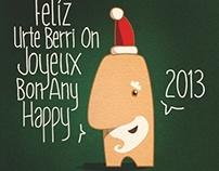 Happy 2013 xmas Card