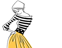 Fashion Illustration - Moschino