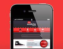 Mobile Web Shop