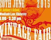 Vintage Fair poster design