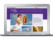 WEBSITE | Rediseño de sitio web: Elegir Salud