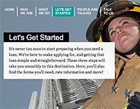 LGFCU Commercial Lending Website