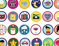 Whonear Badges