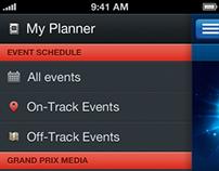 Grand Prix iOS app