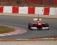 Formula 1 Test Days - Circuit de Catalunya - 2012