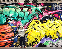 Stage Mural 2013
