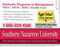 SNU Print Ads