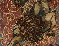 """Lion of Tribe Judah"" T-shirt Illustration"