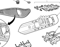 Equipment Technical Illustrations