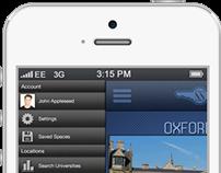 App Site Graphical User Interface | 3Fifteen Design