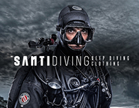 Oskar Podolski ™ OESU x SANTI Deep Diving Clothing