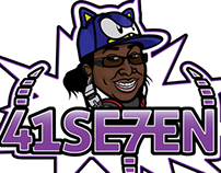 DJ 41SE7EN Logo/Identity