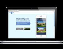 Website Design | Student Spaces | App Promotion
