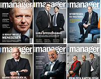 Manager Magazin Hungary covers