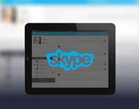 Skype UI