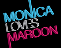 Monica Loves Maroon