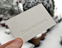 Trancendence - Letter Press Cards