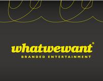 Whatwewant Visual Identity Development