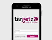 Targetz UX design
