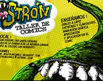 Campaña Mostrón Taller de comics