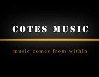 Cote's Music (Corperate Identity)