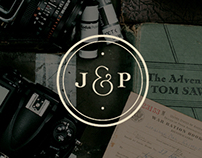 Joe & Patience Branding + Website