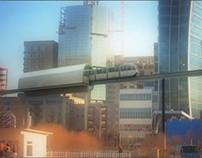 Ulaanbaatar LRT metro Concept